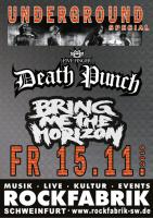 FIVE FINGER DEATH PUNCH-BRING ME THE HORIZON SPECIAL UNDERGROUND